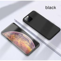 Oryginalny płynny silikonowy luksusowy pokrowiec na Apple iPhone 11 Pro Max 7 8 6 6S Plus XR X XS MAX 5 5S SE tylna okładka odpo