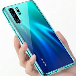 Ultra cienka obudowa do Huawei P30 Pro P20 Lite Y9Prime 2019 PSmart Z etui miękka przezroczysta TPU tylna pokrywa dla honoru 30