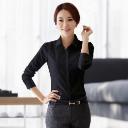 Damskie bluzki bawełniane popy i bluzki na co dzień z długim rękawem koszule damskie różowy/biały Blusas Plus rozmiar XXXL/5XL B