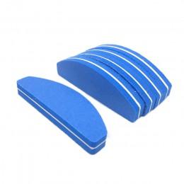 10 sztuk/paczka 100/180 Grit pilniki do paznokci zmywalne dwustronnie pilniczek do paznokci pilniki do paznokci Salon narzędzia