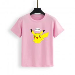2019 jesień kobiety bluzy z golfem Pikachu nadruk bluzy Harajuku moda kawaii bluzki Cartoon Pokemon pary swetry