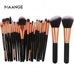 MAANGE 20/22Pcs piękno makijaż pędzle zestaw kosmetyczny Fundacja proszek Blush Eye Shadow Blend makijaż pędzel zestaw narzędzi