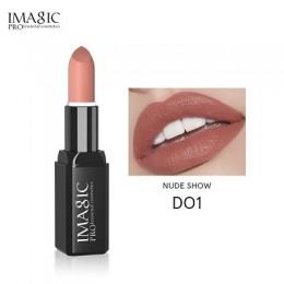 IMAGIC Kissproof błyszcząca szminka 16 kolorów wodoodporny Pigment wielokolorowy łatwy do przenoszenia matowy Batom