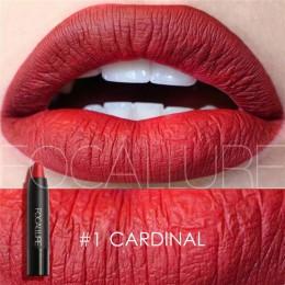 Matowa szminka focallure 19 kolorów wodoodporny, długi trwały łatwy w użyciu profesjonalny szminka Nude szminka