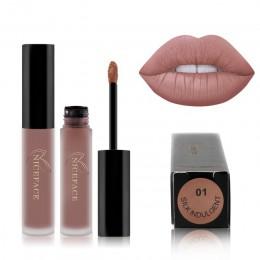 Aksamitna 30 kolorów szminka w płynie sexy nude kolor matowa szminka w płynie wodoodporny trwały błyszczyk nawilżający kosmetyki