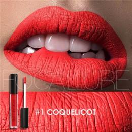 FOCALLURE wodoodporny szminka w płynie aksamitna odcień ust seksowne czerwone usta makijaż należy zachować 24 godziny matowa szm