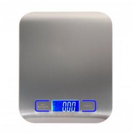 Cyfrowa wielofunkcyjna waga kuchenna do żywności, stal nierdzewna, platforma ze stali nierdzewnej 11lb 5kg z wyświetlaczem LCD (