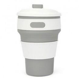 Gorący składany kubek silikonowy przenośny silikonowy teleskopowy picia składany kubek kawy wielofunkcyjny składany kubek krzemi