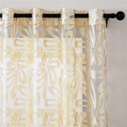 Topfinel geometryczne nowoczesne przepuszczające światło panele zasłonowe do salonu sypialnia kuchnia rolety zabiegi okienne dra