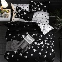 JDDTON New Arrival klasyczna dwustronna podszewki na łóżko zwięzła stylowa pościel zestaw kapa na kołdrę poszewka pokrywa łóżko