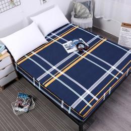 MECEROCK nowy nadruk narzuta na materac na łóżko materac wodoodporny podkładka ochronna dopasowane prześcieradło oddzielone wody