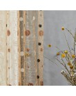 Topfinel ptasie gniazdo Sheer zasłony kropki haftowana zasłona do kuchni salon sypialnia tiul do panelu leczenia Windows