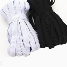 10m * tkany płaski z dzianiny elastyczny rzemyk do szycia przewód elastyczny elastyczny pasek do szycia rozciągliwa linka