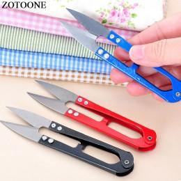 Tkanina na odzież haftowane nożyczki losowy kolor Cross Stitch nożyczki do przycinania Craft DIY przyrządy do szycia i akcesoria
