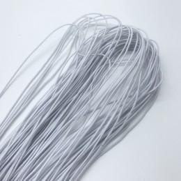 21 metrów 1mm kolorowe wysokiej elastyczna okrągły elastyczny pasek okrągły lina elastyczna gumowa elastyczna linia DIY szycia a