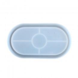 Formy popielniczka Coaster elastyczne formy silikonowe żywica epoksydowa glina formy żywiczne forma gipsowa